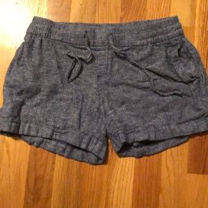 They are Stretchy Jean shorts.